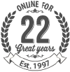 On-line for 22 Years
